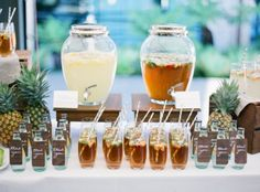 Tips For Planning The Perfect Outdoor Wedding In Melbourne.  On hot days, set up a drink station. The groomsmen and guests, who often arrive 30 – 45 minutes prior to the bride's arrival, will appreciate the hydration. Another idea is to have your order of service double as a fan.
