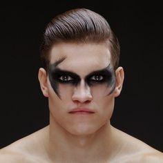 Image result for male models makeup