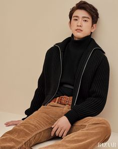 Jinyoung for Harper's Bazaar Korea October Photographed by Kim Hyungsik Youngjae, Got7 Jinyoung, Kim Yugyeom, Mark Bambam, Got7 Jb, Mark Jackson, Jackson Wang, K Pop, Got7 Junior