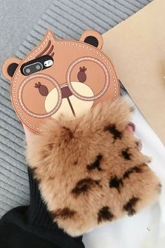 Bear iPhone 6, iPhone 6 Plus, iPhone 7 & iPhone 7 Plus, PiPhone 8 & iPhone 8 Plus Protective Case For Cute Girls #iphone6cases,