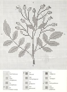 Gallery.ru / Фото #10 - Cross Stitch Pattern in Color - Mosca