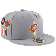 5b22e23542a Cleveland Cavaliers New Era 2018 Draft 59FIFTY Fitted Hat – Gray