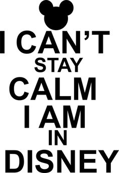 Keep Calm Disney shirt
