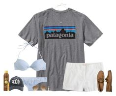 """Day five: boating!"" by bloom17 ❤ liked on Polyvore featuring Patagonia, J.Crew, Sun Bum, Sperry Top-Sider, Ray-Ban, Lord & Taylor, Kendra Scott and lydiasdreamspringbreakcontest"