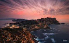 Ocaso en las Islas Cies by Glendor (PhotoGlendor) on 500px
