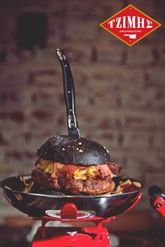 Χεράτα του δρόμου #Burger 🍔❤️🍔😍 μια δημιουργία του μετρ του είδους Ηλία Σκουλά!!!  #tzimiskreatofageion #Λαδάδικα #θεσσαλονίκη Food, Essen, Meals, Yemek, Eten