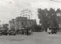 El cruce de Insurgentes y Oaxaca alrededor de 1930