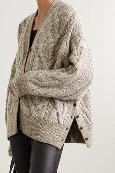 Knit Jacket, Wool Cardigan, Hand Knitting, Knitting Patterns, Cool Sweaters, Cardigans For Women, Cable Knit, Merino Wool, Knit Crochet