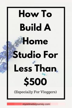 How to build a home studio for less than $500 - especially for vloggers. Believe it or not, you do not need expensive equipment to start vlogging. In today's video, I am giving you a tour of my home studio which (let's be real) is simply a corner of my bedroom and the inexpensive equipment I use to create my videos on Youtube.