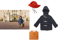 Kozi Kidz Sou'Wester red hat, $23kozikidz.comTalc duffle coat, $186sweetwilliamltd.comFlora and Henri April Showers school bag, price upon requestflorahenri.com - Photo: (Clockwise from left) Everett Collection; Courtesy of kozkids.com; Courtesy of sweetwilliamltd.com; Courtesy of florahenri.com