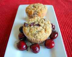 It's June! And yes, time for The Secret Recipe Club reveal! The Secret Recipe Club was started by Amanda of Amanda's Cookin' and is now overseen by April of Angel's Homestead. Our fearless leader of Group C continues Cherry Muffins, Oatmeal Muffins, Oatmeal Cookies, Muffin Recipes, Baking Recipes, Dessert Recipes, Healthy Recipes, Healthy Sweets, Dessert Ideas