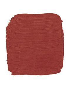 Benjamin Moore Tucson Red - my small foyer is this color, has been for six years, not tired of it yet.