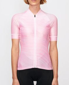 Tenet Supply pink lycra performance racing cycling jersey from The Cycling Store Cycling Jerseys, Wave Pattern, Cycling Outfit, Men Casual, Mens Tops, Jackets, Bicycle, Kit, Road Cycling