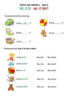 Yes, it is - No, it isn't - Interactive worksheet Learning English Is Fun, English Activities For Kids, English Grammar For Kids, English Worksheets For Kindergarten, Teaching English Grammar, English Worksheets For Kids, English Lessons For Kids, English Fun, English Language Learning