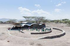 Konokono Vaccination and Educational Clinic, Selgas Cano and MIT Open Studio students; Turkana, Kenya. Image © Iwan Baan