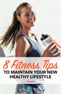 These Fitness Tips to Maintain Your New Healthy Lifestyle will help you build clean-eating and consistent exercise habits that will last a lifetime. Fitness Models, Fitness Tips, Best Workout Plan, Workout Regimen, Lose 20 Pounds, Weight Loss Meal Plan, Stay In Shape, Regular Exercise, Diet Tips