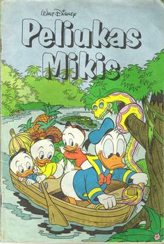 Lithuania - Peliukas Mikis (Lithuanian). Scanned image of comic book (© Disney) cover.
