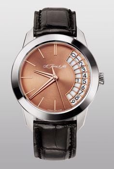 A. Favre & Fils - Phoenix 10.1 - 18K white gold case - 5N rose gold dial