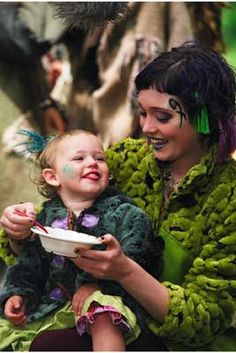 The Tribe ... TV Show ... Trudy and her daughter Brady