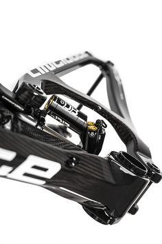 Industrial design on super enduro bike