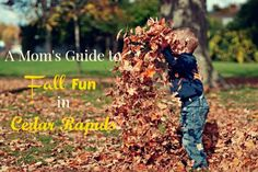Check out this guide to kid-friendly fall activities in and around Cedar Rapids! We've done the work for you, so just choose your event and go have fun!