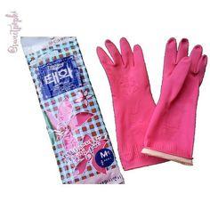 Taehwa Rubber Gloves Sarung Tangan Karet Berkualitas Co Untuk Kegiatan Kebersihan Cuci Piring Mengepel Lantai Membersihkan Dapur R