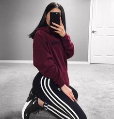 Pin by Outfit Ideen on Outfit Ideen Chill Outfits, Sporty Outfits, Mode Outfits, Dance Outfits, Cute Casual Outfits, Fashion Outfits, Fitness Outfits, Girl Fashion, Punk Fashion