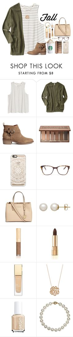 """""""Even tho I have a summer account, I will start posting fall and winter sets✌️"""" by tropical-girl-xo ❤ liked on Polyvore featuring Aéropostale, Urban Decay, Casetify, Prism, Michael Kors, Honora, Dolce&Gabbana, Clarins, Ginette NY and Essie"""