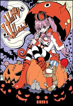 One Piece, Perona One Piece Fanart, One Piece Anime, Anime Halloween, Happy Halloween, Halloween Party, Anime One, Anime Manga, Baby Sketch, Kurama Naruto
