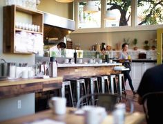 Dinner, though excellent, is a pretty mellow affair at Plow compared to breakfast and brunch.