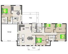 Acreage designs house plans queensland house designs for House plans with granny suites