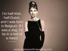 A Hell of a Mess - Audrey Hepburn