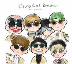 Dorky Bts and their dorky spine breaker video