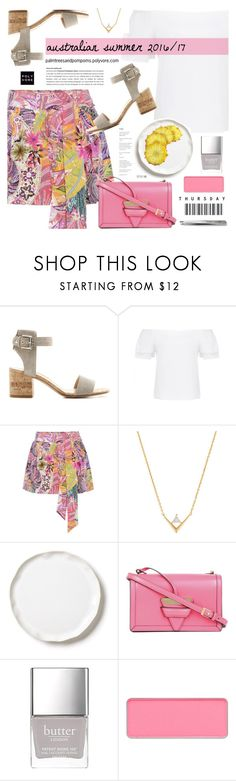 """""""Australian Spring Summer 2016/17 - Etro Printed Silk Shorts"""" by palmtreesandpompoms ❤ liked on Polyvore featuring Gianvito Rossi, Forever New, Etro, Accessorize, Vietri, Loewe, Butter London, shu uemura, Bobbi Brown Cosmetics and forevernew"""