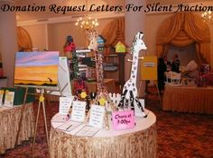 Donation Request Letters For Silent Auction - Fundraiser Help
