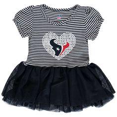 Houston Texans Girls Infant Celebration Tutu Sequins Dress - Navy - $27.99