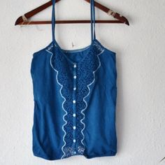 """Eco dyed cami halter top SIZING: small/medium. Measures when laid flat 15.5"""" across chest (from underarm points) and 24"""" long. Ethicallifestore Tops Camisoles"""