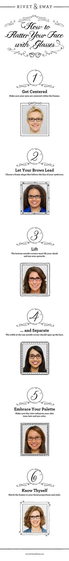 44373c7cd5 How to Flatter Your Face with Glasses - Great designs and great way to buy.
