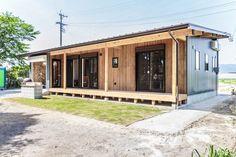 Garage Doors, Deck, Houses, Outdoor Decor, Home Decor, Cabanas, Homes, Front Porch, Decks