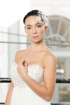 Swan Princess- Coastal Virginia Bride Casa Blanca wedding gown from Williamsburg Bridal & Formal
