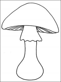 A Free Coloring Pages, Coloring For Kids, Mushroom House, Paper Birds, Autumn Crafts, Floral Illustrations, Abstract Flowers, Applique Quilts, Simple Art