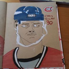 Chris 'Knuckles' Nilan  #thelastgladiators #gladiator #kraft #sketch #sketchbook #canadiens #nhl #enforcer #chrisnilan #nilan #knuckles #grimcartoons #hockey #illustration #illustrator #nyrangers #bostonbruins
