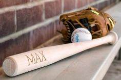 Personalized Wooden Baseball Bat    Two Designs To Choose From!    42% OFF