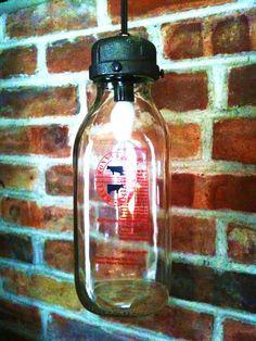 recycled milk bottle