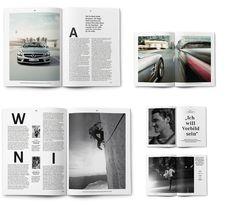 AMG Magazine Editorial Design, Layout Design, Print Design, Design Graphique, Graphic Design Typography, Corporate Design, Design Inspiration, Staging, Artwork