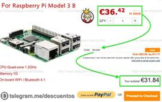 Raspberry Pi 3 Model B Original sólo 3184 - http://ift.tt/2dqdswX