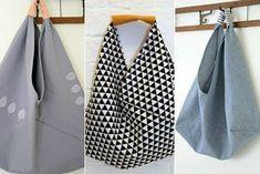 Cómo hacer bolsas de tela de origami. DIY BENTO BAG