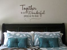 Together is a Wonderful Place to be Vinyl by designstudiosigns, $32.00