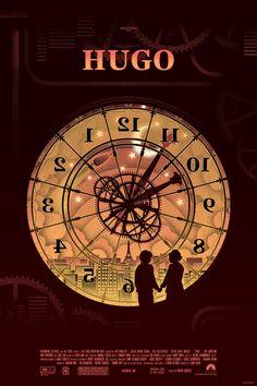 Hugo (2011) - Mondo poster by Kevin Tong