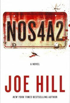 NOS4A2 by Joe Hill. Victoria McQueen has a secret gift for finding things: a misplaced bracelet, a missing photography, answers to unanswerable questions. On her Raleigh Tuff Burner bike, she makes her way to a rickety covered bridge that, within moments, takes her wherever she needs to go, whether it's across Massachusetts or across the country. Charles Talent Manx has a way with children. He likes to take them for rides in his 1938 Rolls-Royce Wraith with the NOS4A2 vanity plate.